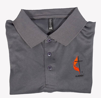 Picture of Polo Shirt - XLarge Clergy Cross and Flame