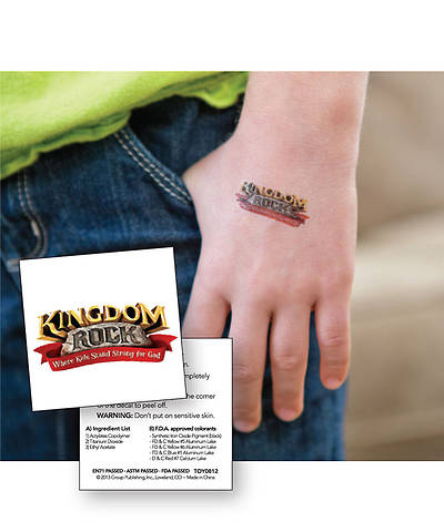 Group VBS 2013 Kingdom Rock Skin Decals (pkg. of 10)