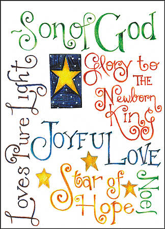 Christmas Boxed Card- Son Of God (Box Of 16)