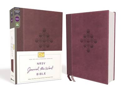 Picture of NRSV Journal the Word Bible, Leathersoft, Burgundy, Comfort Print