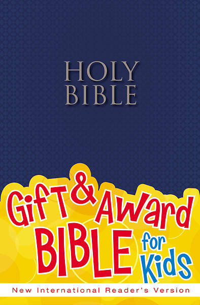Gift & Award Bible for Kids NIRV (Blue paperback)