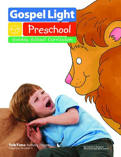 Gospel Light Preschool Ages 2 & 3 Activity Pages Summer