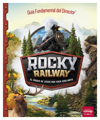 Picture of Vacation Bible School VBS 2021 Rocky Railway Ultimate Director Go To Guide (Spanish for Bilingual Edition)
