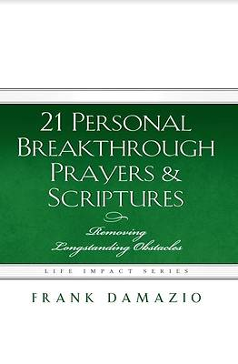 Picture of 21 Personal Breakthrough Prayers & Scriptures