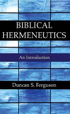 Picture of Biblical Hermeneutics