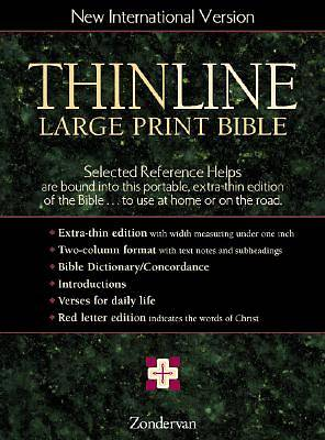 Picture of Thinline Large Print Bible