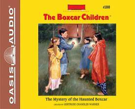 The Mystery of the Haunted Boxcar (Library Edition)