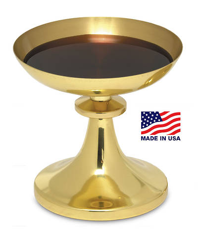 Picture of TRADITIONAL AMERICAN GOLD PLATED SHALLOW BOWL INTINCTION SET