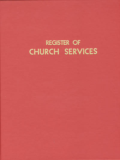 Register of Church Services #400