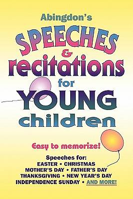 Abingdons Speeches &  Recitations for Young Children