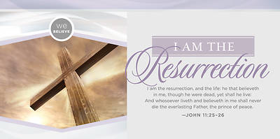 Picture of I Am the Resurrection Easter Offering Envelope - Pack of 100