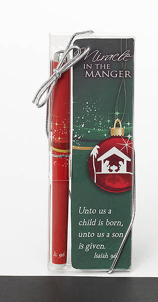 Miracle in the Manger Pen Bookmark Set