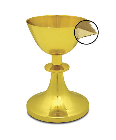 Traditional American Design Chalice with Applied Pouring Spout