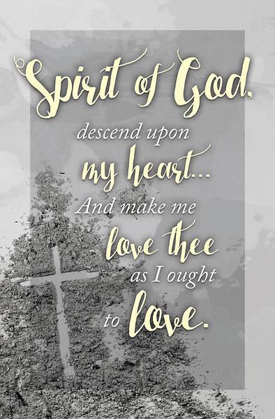 Picture of Spirit of God Ash Wednesday Bulletin (Pkg of 50)
