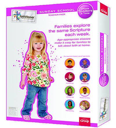 Picture of Faithweaver Infant, Toddlers & Twos Teacher Pack: Spring 2012