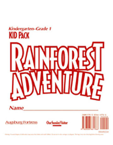 Augsburg Vacation Bible School 2008 Rainforest Adventure Kid Pack Kindergarten-Grade 1 VBS