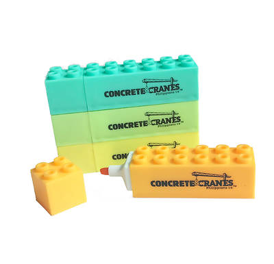 Picture of Vacation Bible School (VBS) 2020 Concrete and Cranes Building Block Highlighters Pkg 4