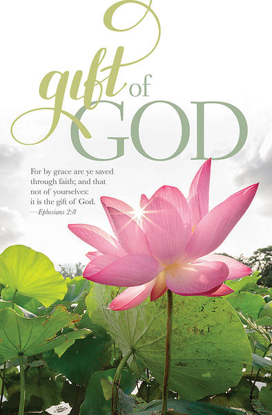 Picture of Gift of God General Regular Size Bulletin