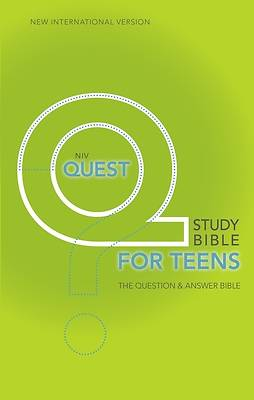 Quest Study Bible New International Version for Teens