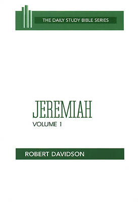 Picture of Daily Study Bible - Jeremiah Volume 1