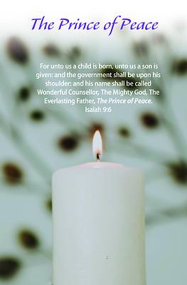 Picture of The Prince of Peace Bulletin (Pkg 100) Advent