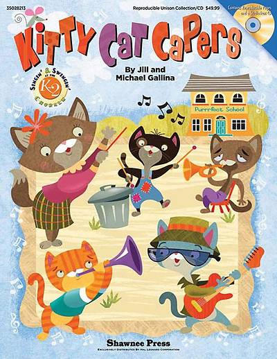 Kitty Cat Capers With CD (Audio)