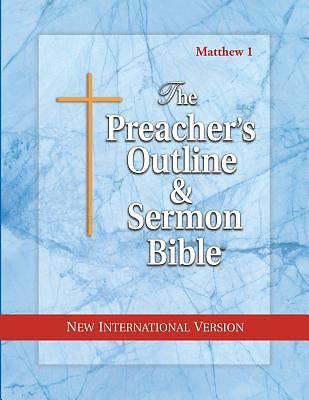 Picture of Preacher's Outline & Sermon Bible-NIV-Matthew 1