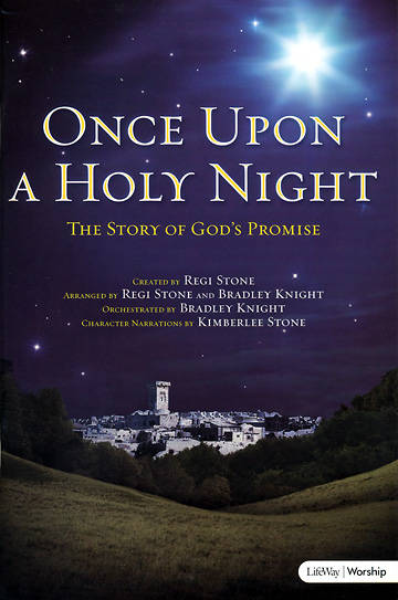 Once Upon a Holy Night SATB Choral Book