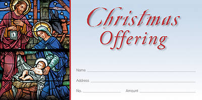 Picture of Behold the Christ Child Christmas Offering Envelope