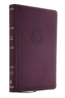 Picture of Kjv, Thinline Bible Youth Edition, Leathersoft, Burgundy, Red Letter Edition, Comfort Print