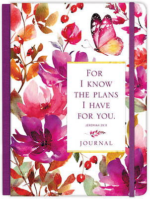 Picture of For I Know the Plans Hardcover Journal