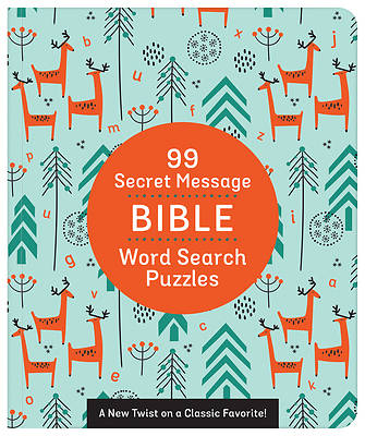 Picture of 99 Secret Message Bible Word Search Puzzles