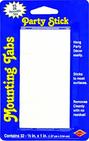 Picture of Vacation Bible School (VBS) Mounting Tabs Pkg of 32