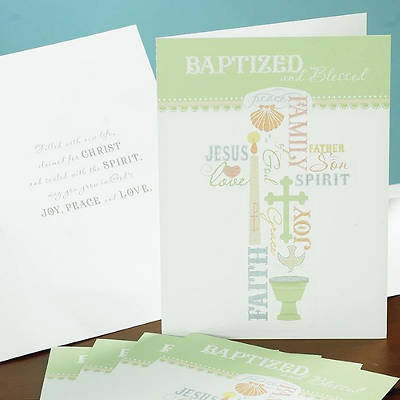 Baptized and Blessed Card