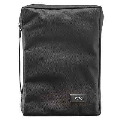 Bible Cover Medium Black