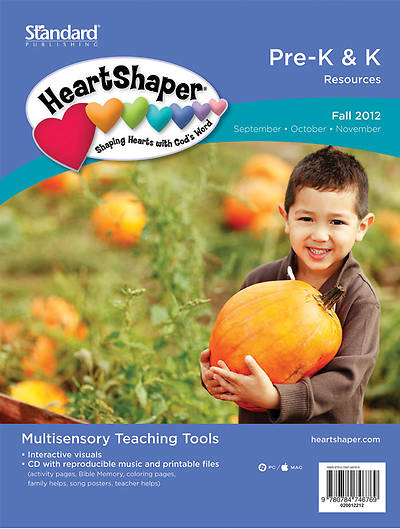 Standards HeartShaper Pre-K & K Resources Fall 2012