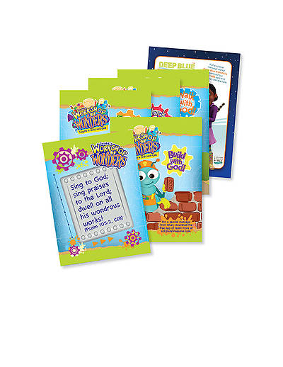 Vacation Bible School (VBS) 2014 Workshop of Wonders Scripture Treasures (Pkg of 6)