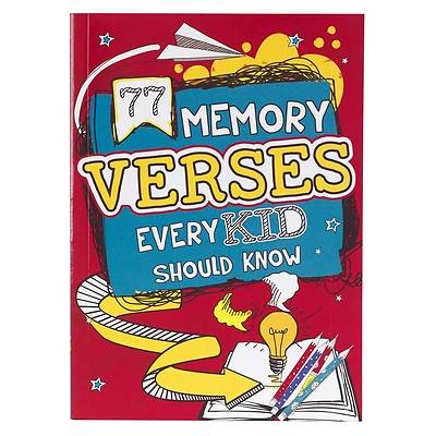 Picture of Book Softcover 77 Memory Verses Every Kid Should Know