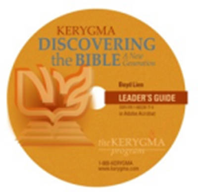 Kerygma Discovering the Bible Leaders Guide CD-ROM/DVD