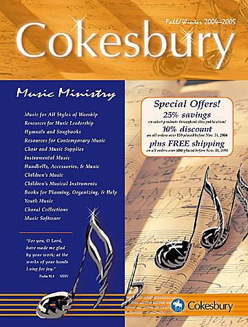 Picture of Fall/Winter Cokesbury Music Catalog 2004-2005