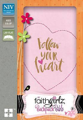 NIV Faithgirlz Backpack Bible, Compact, Imitation Leather