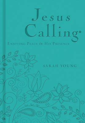 Picture of Jesus Calling - Deluxe Edition Teal Cover