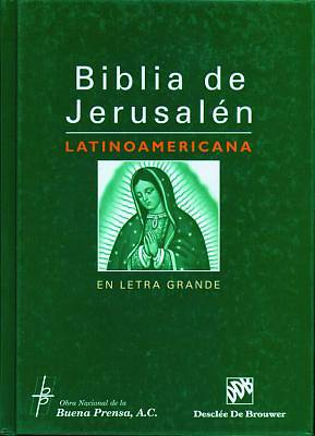 Latin American Bible of Jerusalem in Large Print