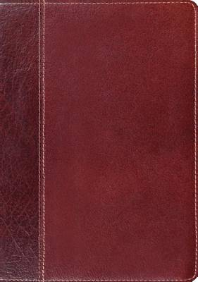 "ESV Study Bible (Cowhide, Brown/Chestnut, ""Vintage"" Design)"