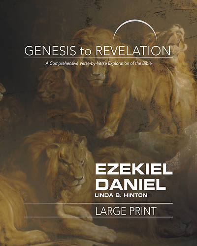 Picture of Genesis to Revelation: Ezekiel, Daniel Participant Book Large Print