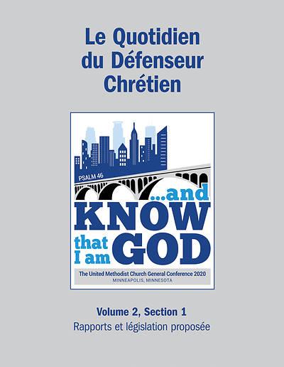 Picture of 2020 Le Quotidien Du Défenseur Chrétien Volume 2, Section 1: Rapports et législation proposée