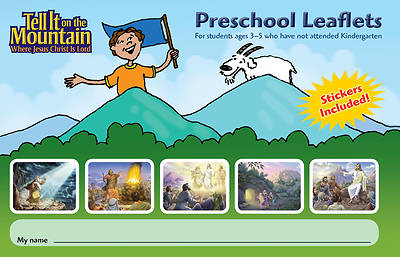 Concordia Vacation Bible School 2013 Tell It On The Mountain Trail Tales Preschool Leaflets