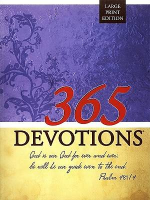 Picture of 365 Devotions Large Print Edition-2011