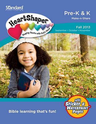Standard HeartShaper Pre-K & K Student (Make-N-Share) Fall 2013