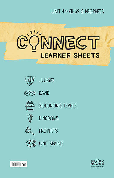 Picture of Connect Grades 5-6 Learner Leaflets Unit 4 Kings & Prophets